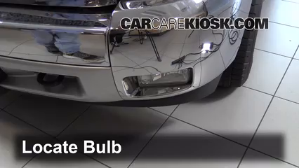 2013 Chevrolet Silverado 1500 LT 5.3L V8 FlexFuel Crew Cab Pickup Lights Fog Light (replace bulb)