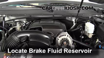 2013 Chevrolet Tahoe LT 5.3L V8 FlexFuel Brake Fluid Add Fluid