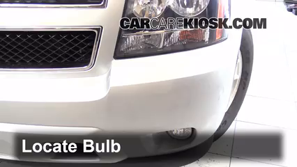 2013 Chevrolet Tahoe LT 5.3L V8 FlexFuel Lights Fog Light (replace bulb)