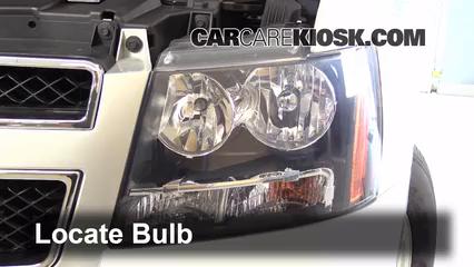 2013 Chevrolet Tahoe LT 5.3L V8 FlexFuel Lights Highbeam (replace bulb)