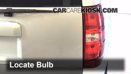 2013 Chevrolet Tahoe LT 5.3L V8 FlexFuel Lights Reverse Light (replace bulb)