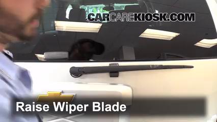 2013 Chevrolet Tahoe LT 5.3L V8 FlexFuel Windshield Wiper Blade (Rear)