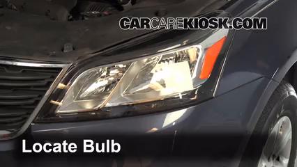 2013 Chevrolet Traverse LS 3.6L V6 Luces Faro delantero (reemplazar foco)