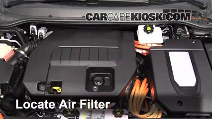 2013 Chevrolet Volt 1.4L 4 Cyl. Filtre à air (moteur)
