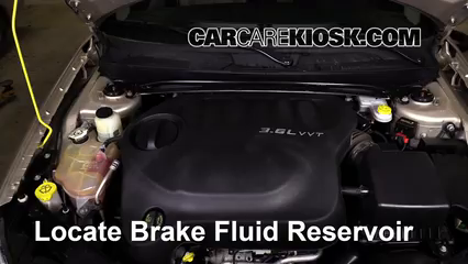2013 Chrysler 200 Limited 3.6L V6 FlexFuel Sedan Brake Fluid
