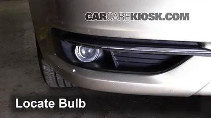 2013 Chrysler 200 Limited 3.6L V6 FlexFuel Sedan Luces Luz de niebla (reemplazar foco)