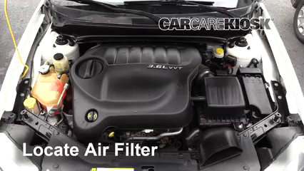 2013 Dodge Avenger SE 3.6L V6 FlexFuel Air Filter (Engine)