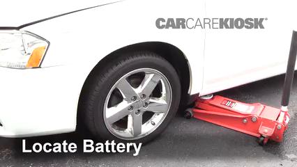 2013 Dodge Avenger SE 3.6L V6 FlexFuel Battery