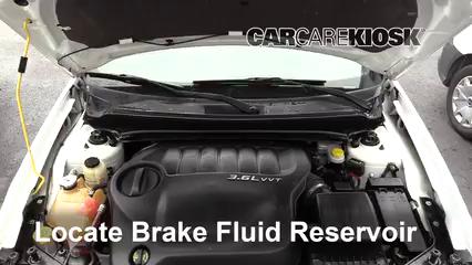 2013 Dodge Avenger SE 3.6L V6 FlexFuel Brake Fluid