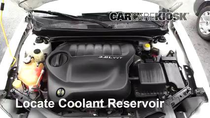 2013 Dodge Avenger SE 3.6L V6 FlexFuel Coolant (Antifreeze)