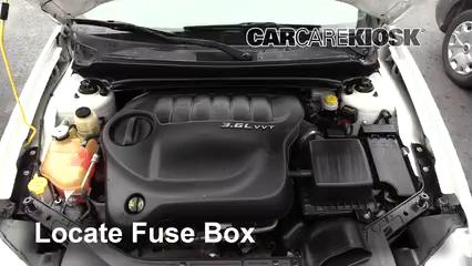 2013 Dodge Avenger SE 3.6L V6 FlexFuel Fuse (Engine)