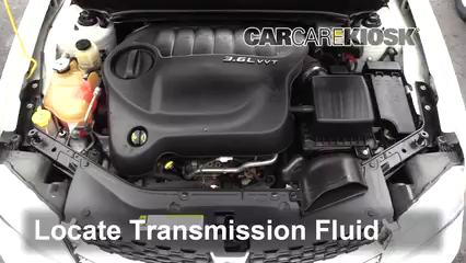 2013 Dodge Avenger SE 3.6L V6 FlexFuel Transmission Fluid