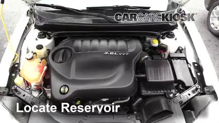 2013 Dodge Avenger SE 3.6L V6 FlexFuel Windshield Washer Fluid
