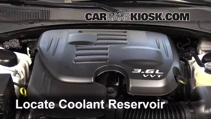 2013 Dodge Charger SE 3.6L V6 FlexFuel Coolant (Antifreeze) Add Coolant