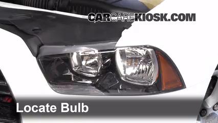 2013 Dodge Charger SE 3.6L V6 FlexFuel Lights Headlight (replace bulb)