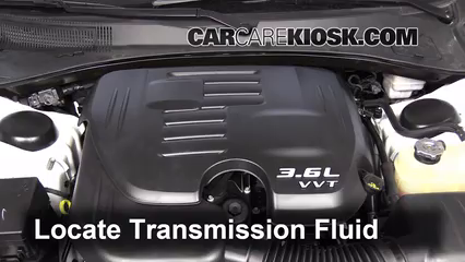 2013 Dodge Charger SE 3.6L V6 FlexFuel Transmission Fluid Fix Leaks