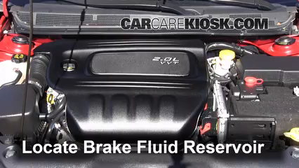 2013 Dodge Dart SXT 2.0L 4 Cyl. Brake Fluid