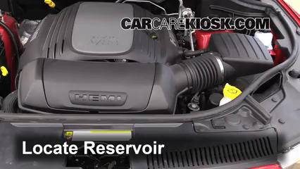 2013 Dodge Durango RT 5.7L V8 Windshield Washer Fluid