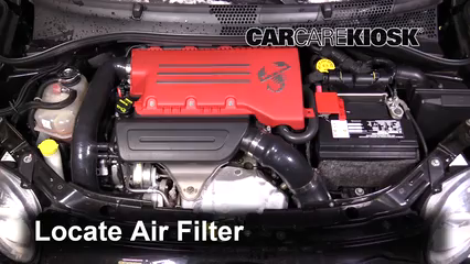 2013 Fiat 500 Abarth 1.4L 4 Cyl. Turbo Filtre à air (moteur)