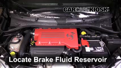 2013 Fiat 500 Abarth 1.4L 4 Cyl. Turbo Liquide de frein