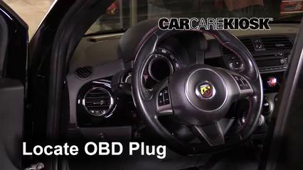 2013 Fiat 500 Abarth 1.4L 4 Cyl. Turbo Lumière « Check engine » du moteur