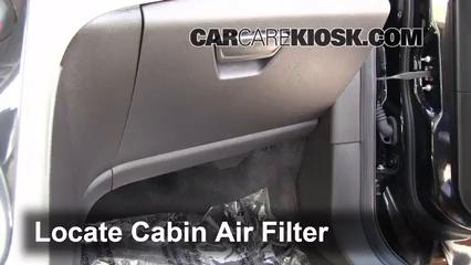 2013 Ford C-Max Hybrid SEL 2.0L 4 Cyl. Filtre à air (intérieur)