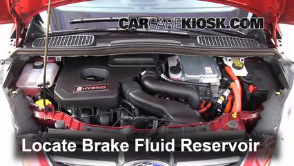 2013 Ford C-Max Hybrid SEL 2.0L 4 Cyl. Liquide de frein