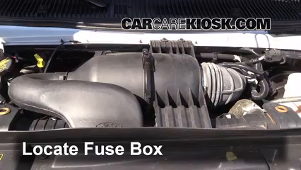 2013 Ford E-350 Super Duty XLT 5.4L V8 FlexFuel Standard Passenger Van Fusible (moteur)