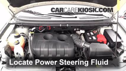 2013 Ford Edge SE 2.0L 4 Cyl. Turbo Pérdidas de líquido Líquido de dirección asistida (arreglar pérdidas)