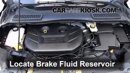 2013 Ford Escape SEL 2.0L 4 Cyl. Turbo Liquide de frein