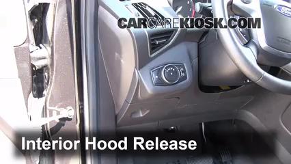 2013 Ford Escape SEL 2.0L 4 Cyl. Turbo Capot