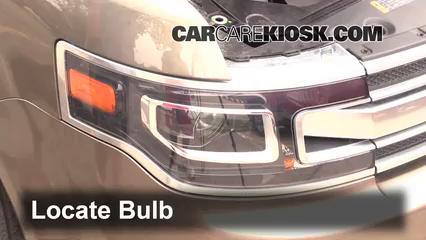 2013 Ford Flex Limited 3.5L V6 Turbo Sport Utility (4 Door) Luces Luz de giro delantera (reemplazar foco)