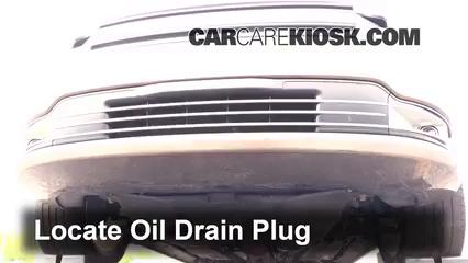 2013 Ford Flex Limited 3.5L V6 Turbo Sport Utility (4 Door) Aceite Cambiar aceite y filtro de aceite
