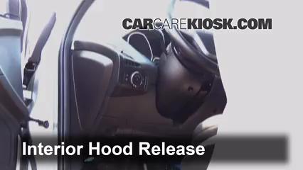 2013 Ford Focus SE 2.0L 4 Cyl. FlexFuel Hatchback Capot