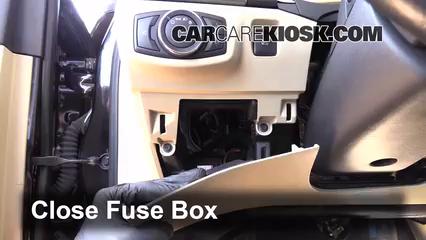 Interior Fuse Box Location 2013 2019 Ford Fusion 2013 Ford Fusion Se 2 0l 4 Cyl Turbo