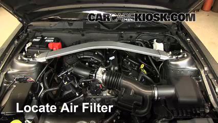 2013 Ford Mustang 3.7L V6 Convertible Filtre à air (moteur)