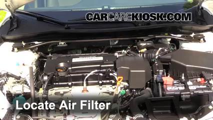 2013 Honda Accord EX-L 2.4L 4 Cyl. Sedan Filtre à air (moteur)