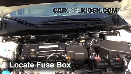 2013 Honda Accord EX-L 2.4L 4 Cyl. Sedan Fusible (moteur)
