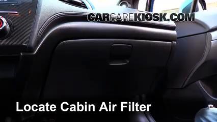 2013 Honda Civic Si 2.4L 4 Cyl. Sedan Filtre à air (intérieur)