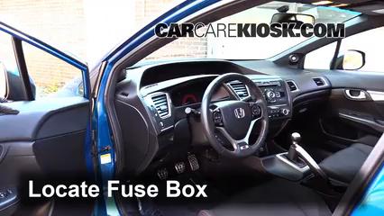2013 Honda Civic Si 2.4L 4 Cyl. Sedan Fusible (intérieur)