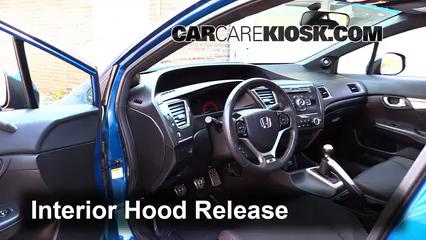 2013 Honda Civic Si 2.4L 4 Cyl. Sedan Capot