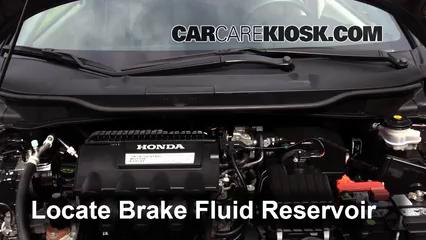 2013 Honda Insight LX 1.3L 4 Cyl. Liquide de frein