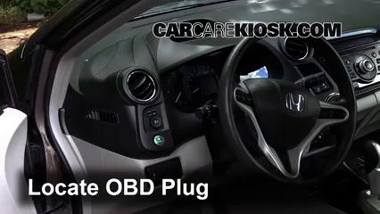 2013 Honda Insight LX 1.3L 4 Cyl. Lumière « Check engine » du moteur
