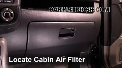 2013 Honda Ridgeline RTL 3.5L V6 Filtro de aire (interior) Cambio