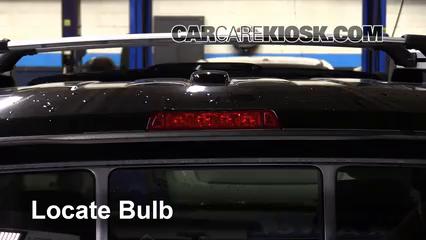 2013 Honda Ridgeline RTL 3.5L V6 Luces Luz de freno central (reemplazar foco)
