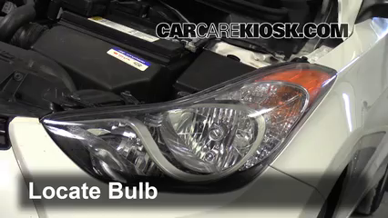 2013 Hyundai Elantra Coupe GS 1.8L 4 Cyl. Coupe (2 Door) Lights Parking Light (replace bulb)