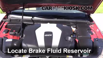 2013 Hyundai Genesis 3.8 3.8L V6 Brake Fluid