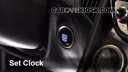 2013 Hyundai Genesis Coupe 2.0T Premium 2.0L 4 Cyl. Turbo Horloge