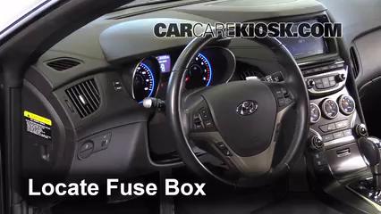 2013 Hyundai Genesis Coupe 2.0T Premium 2.0L 4 Cyl. Turbo Fusible (intérieur)