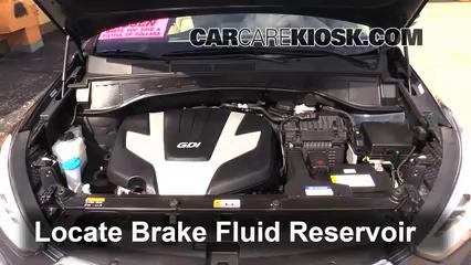 2013 Hyundai Santa Fe GLS 3.3L V6 Liquide de frein
